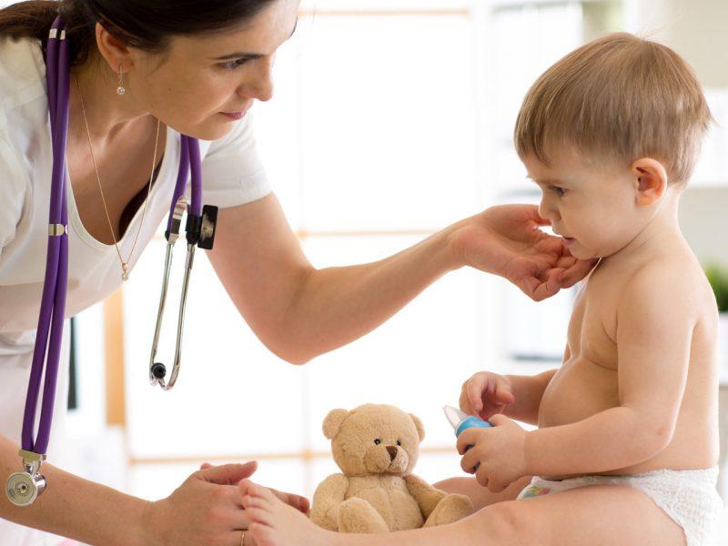 doenças infantis da primavera caxumba