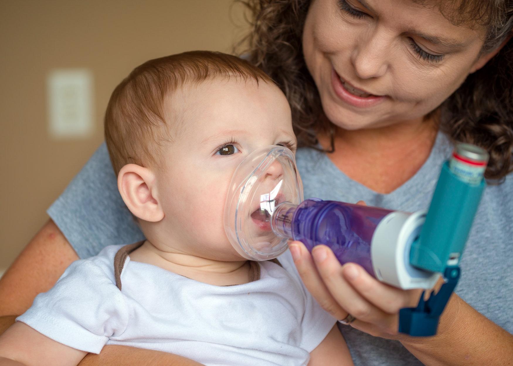 doenças infantis da primavera asma