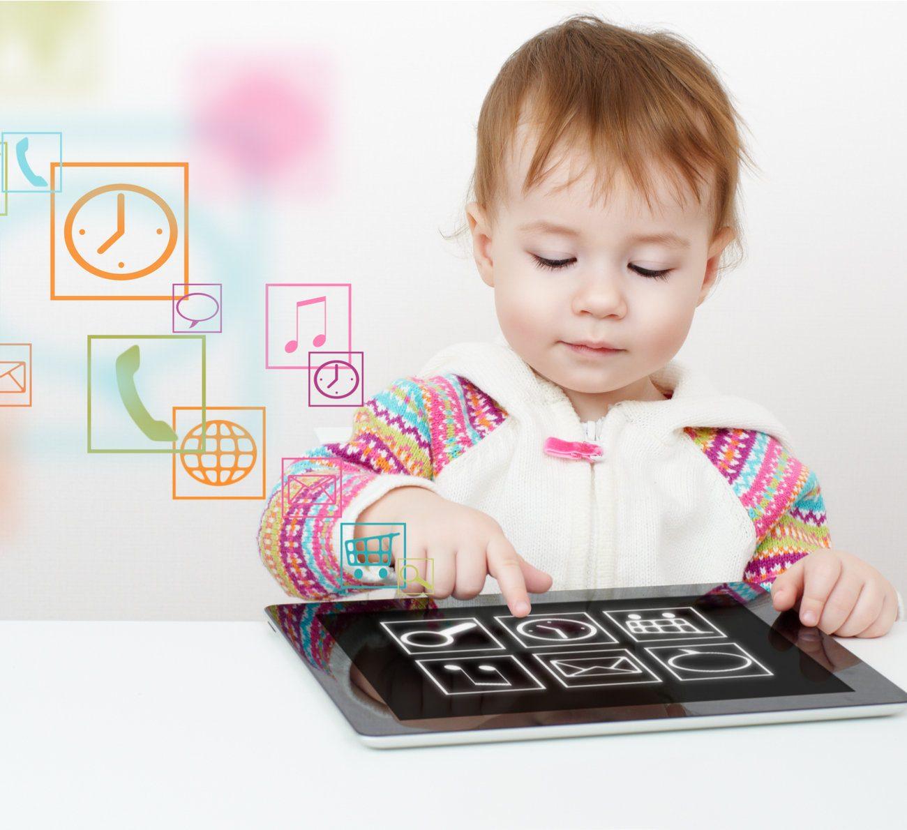 crianças pequenas e a tecnologia
