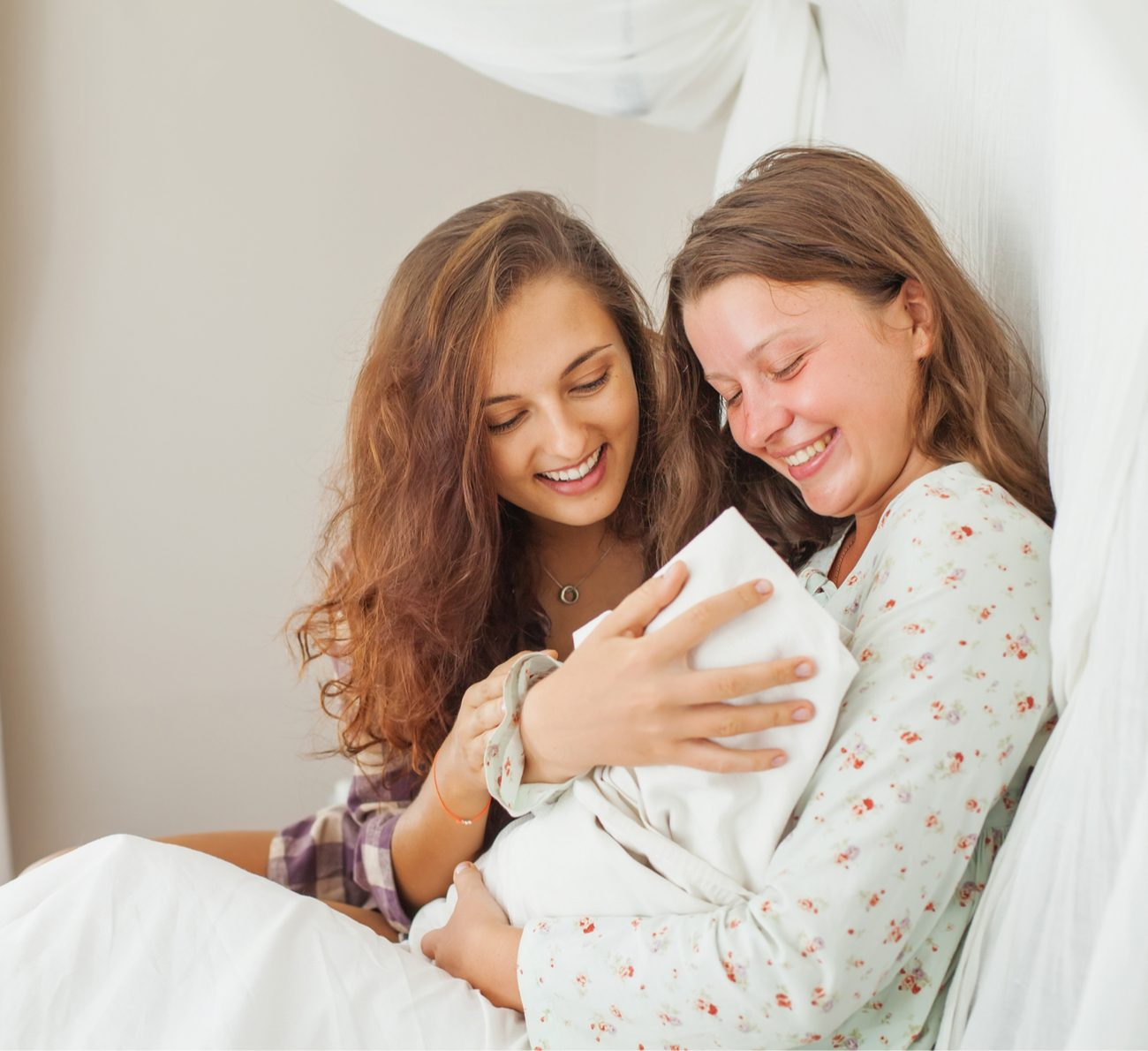 visita ao bebê