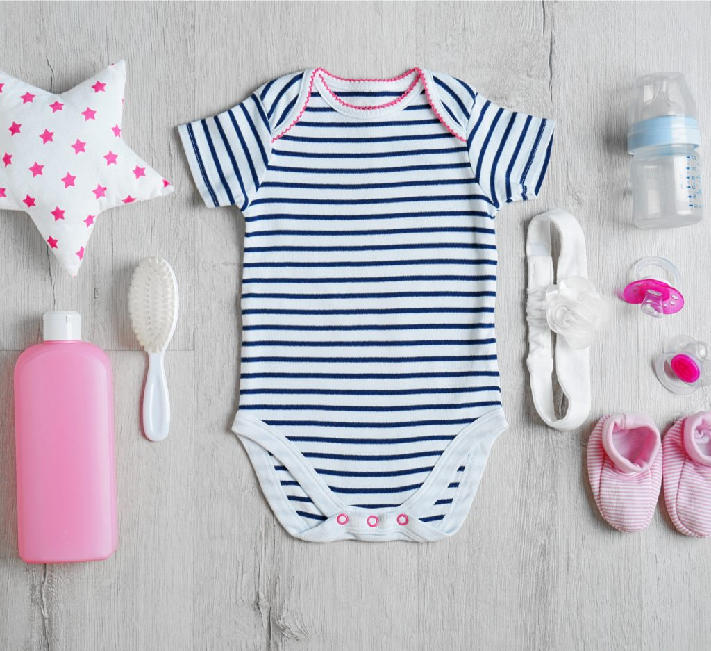 enxoval do bebê no verão