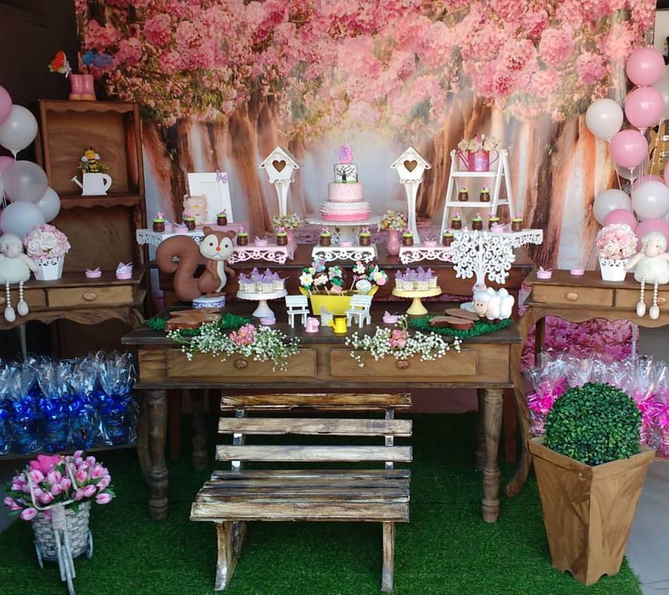 Festa Jardim Encantado dicas para a decoraç u00e3o -> Decoração De Aniversario Jardim Encantado Das Borboletas