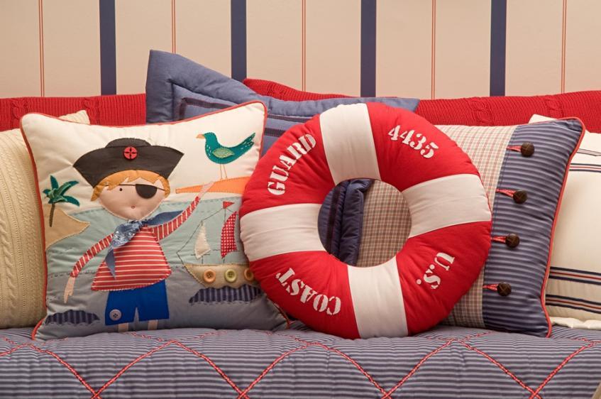 quarto de bebê pirata
