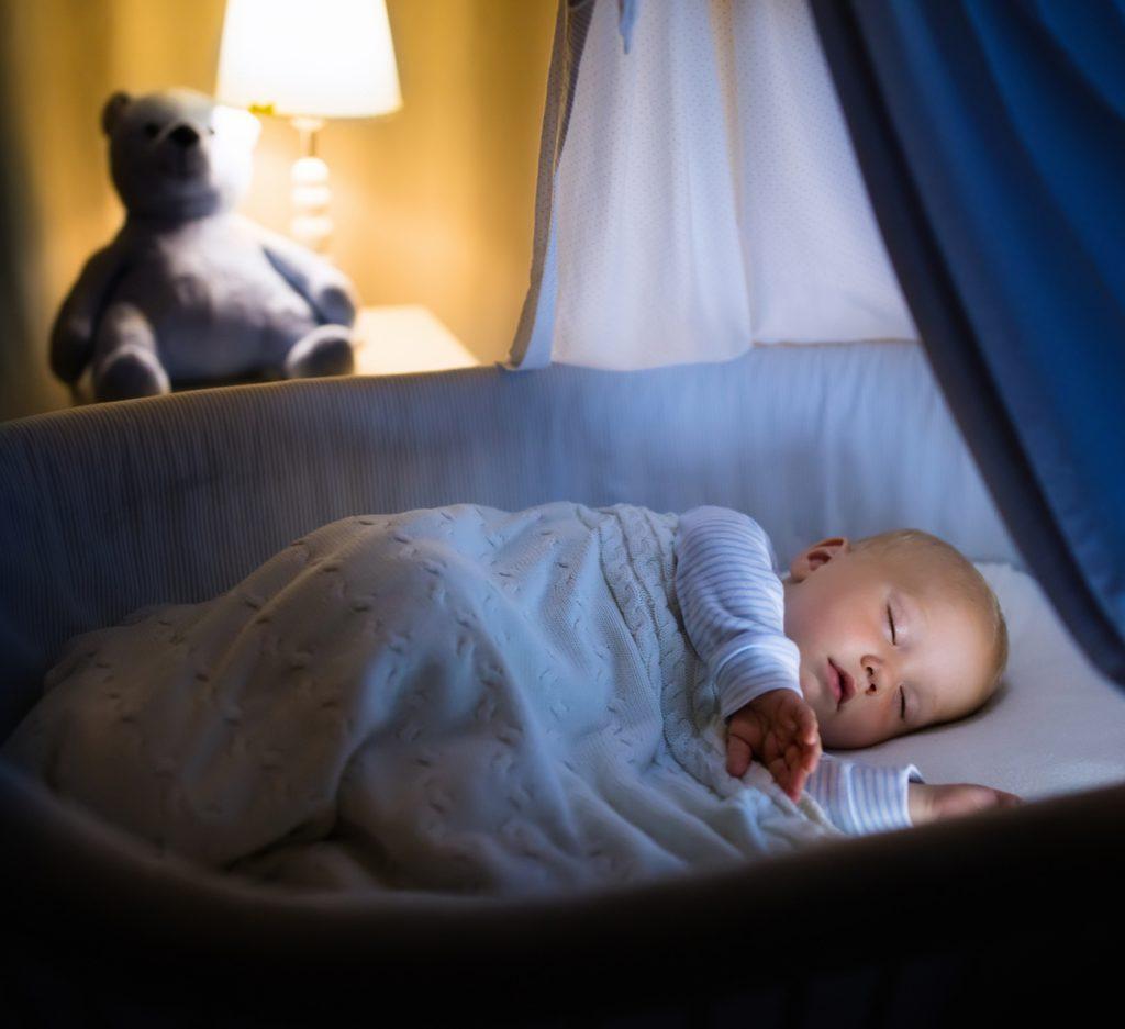bebê dormir a noite inteira