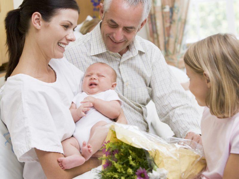 visitas na maternidade