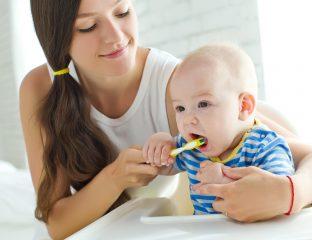 cáries em bebês
