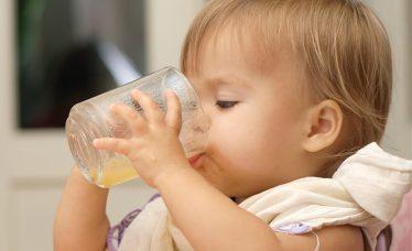 bebê pode tomar suco
