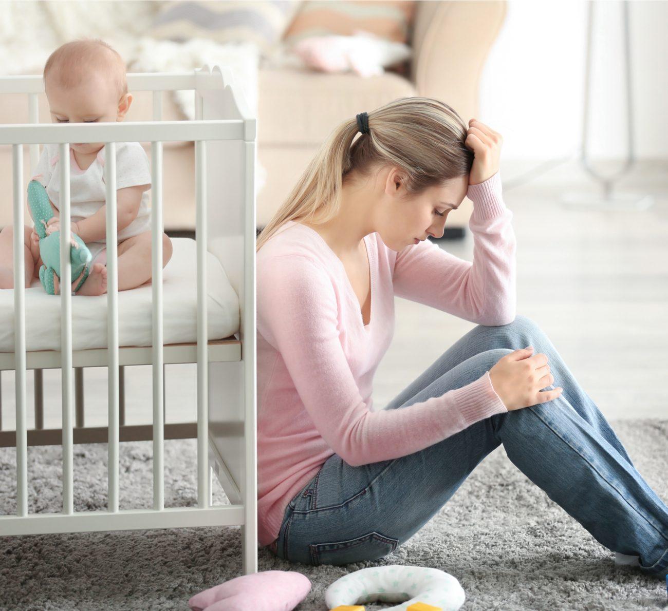 sintomas da depressão pós-parto