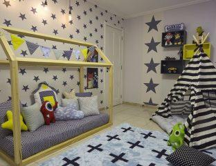quarto montessoriano para menino