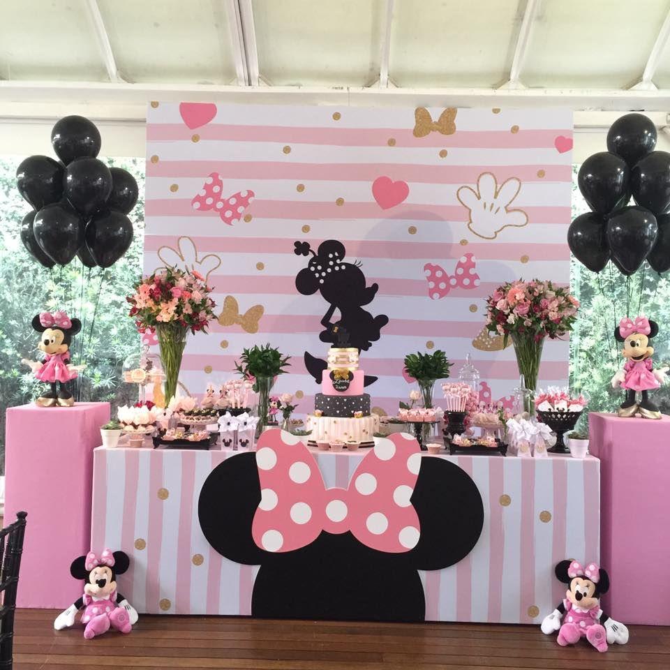 festa minnie rosa um guia completo para voc decorar. Black Bedroom Furniture Sets. Home Design Ideas