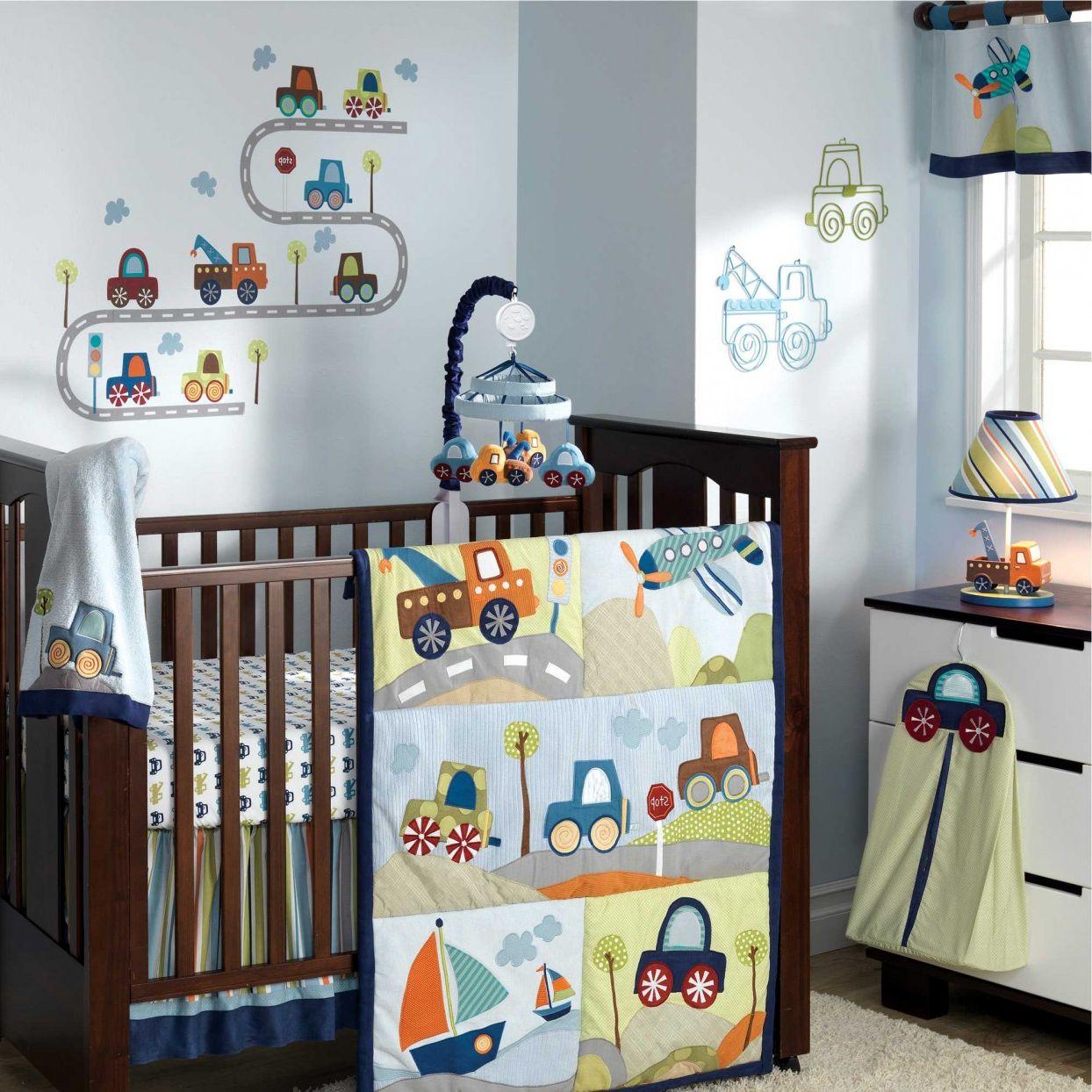 Quarto De Beb Carrinhos 10 Formas De Usar O Tema Na Decora O ~ Quarto De Bebe E Irmão Mais Velho