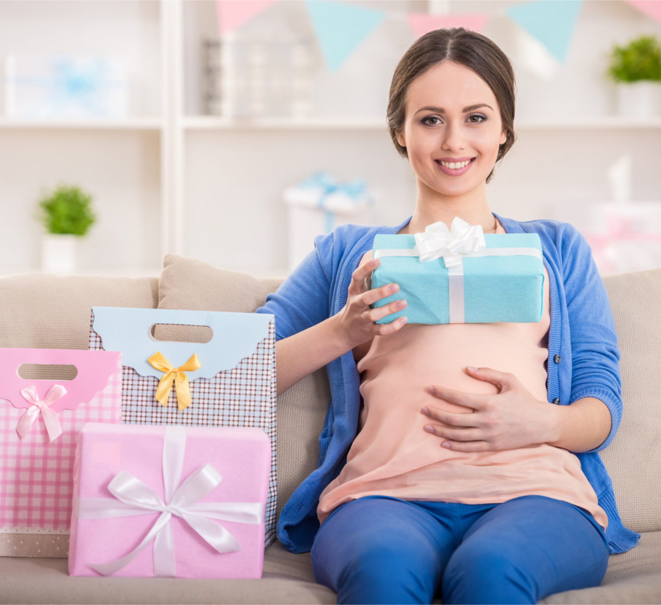 lista de presentes do chá de bebê