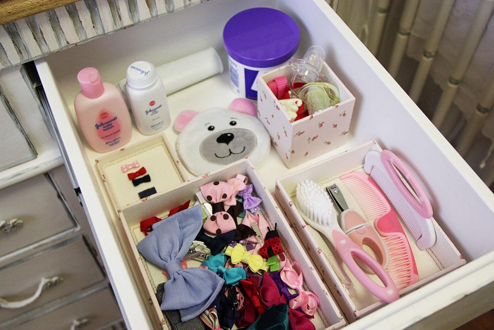 organização do quarto do bebê