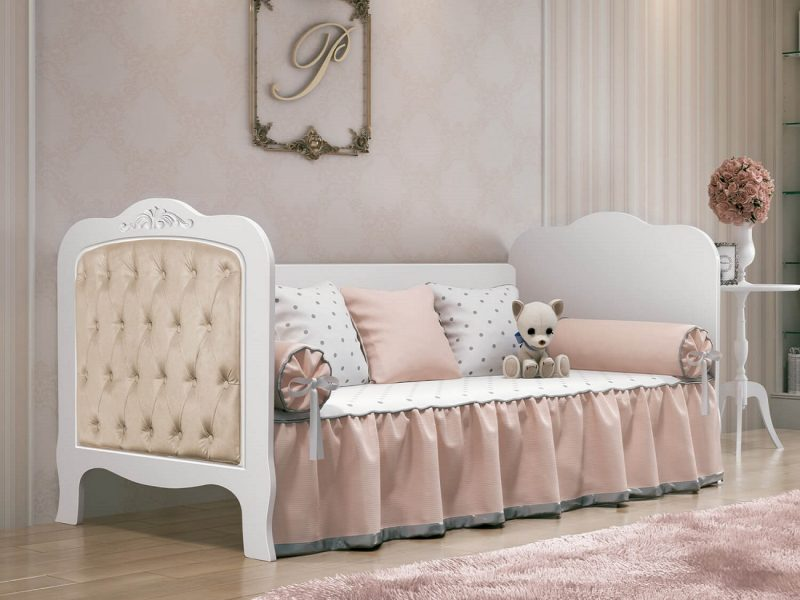 quarto de bebê com cama babá