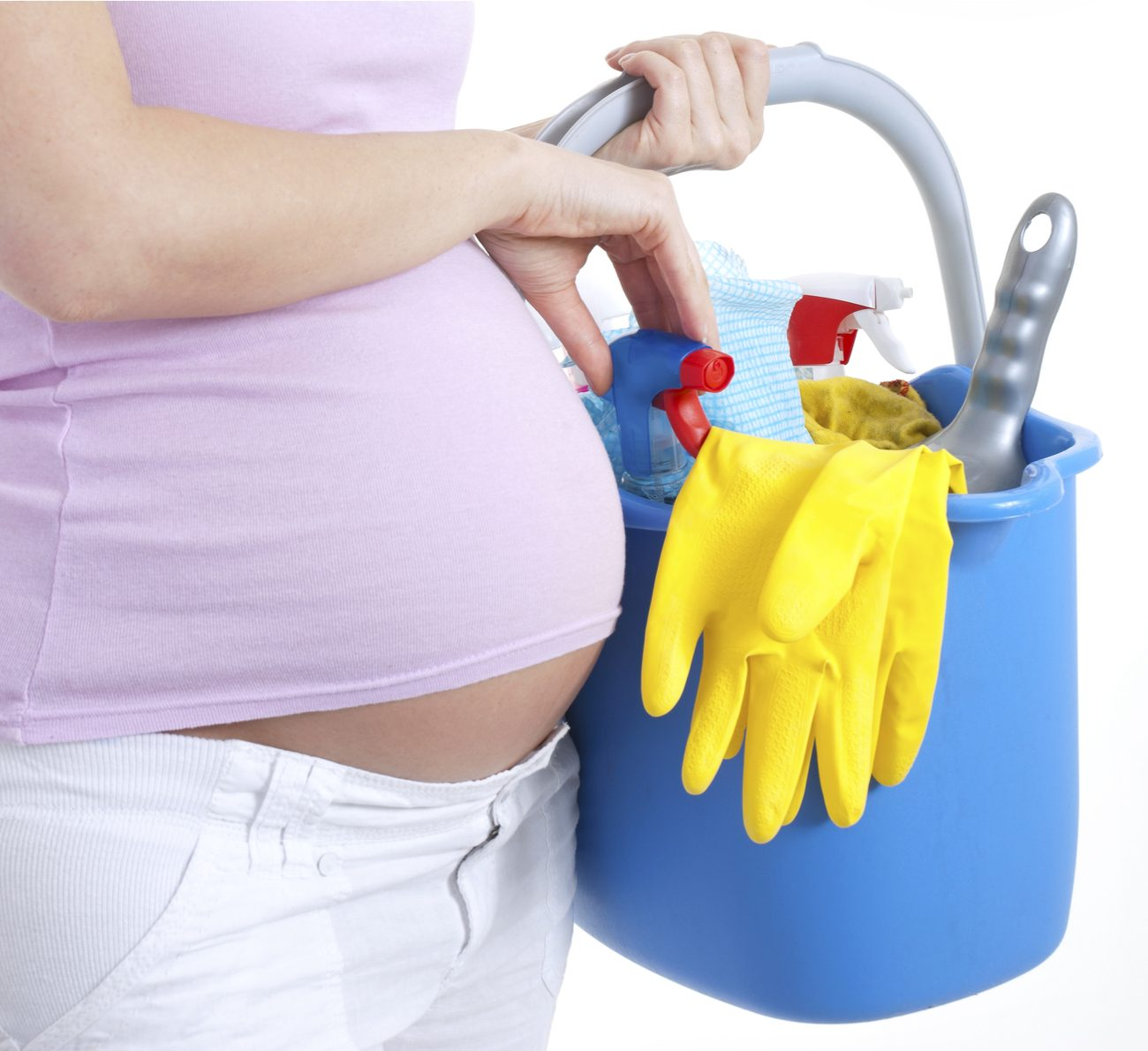 grávida pode fazer faxina