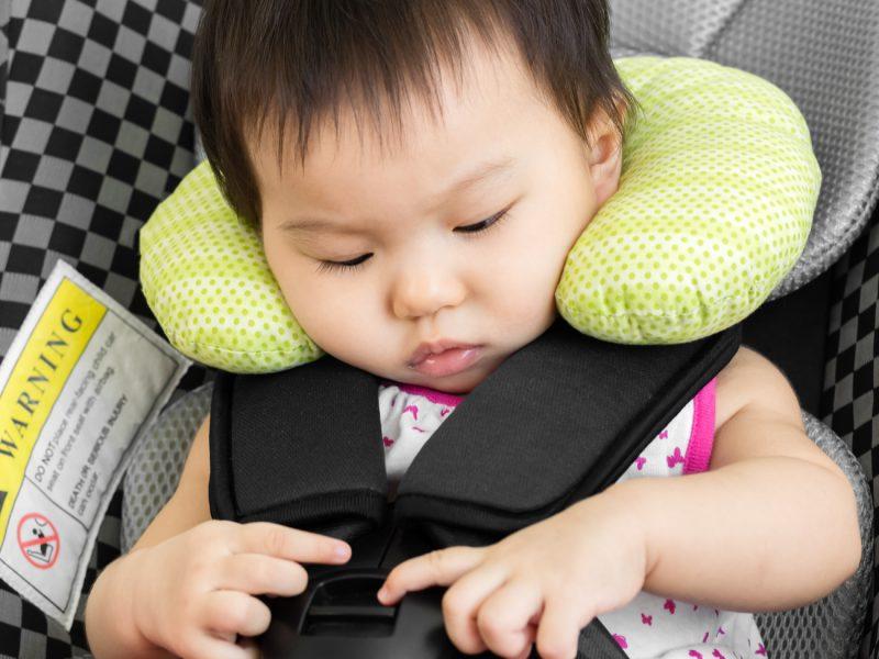 protetor de pescoço para bebês