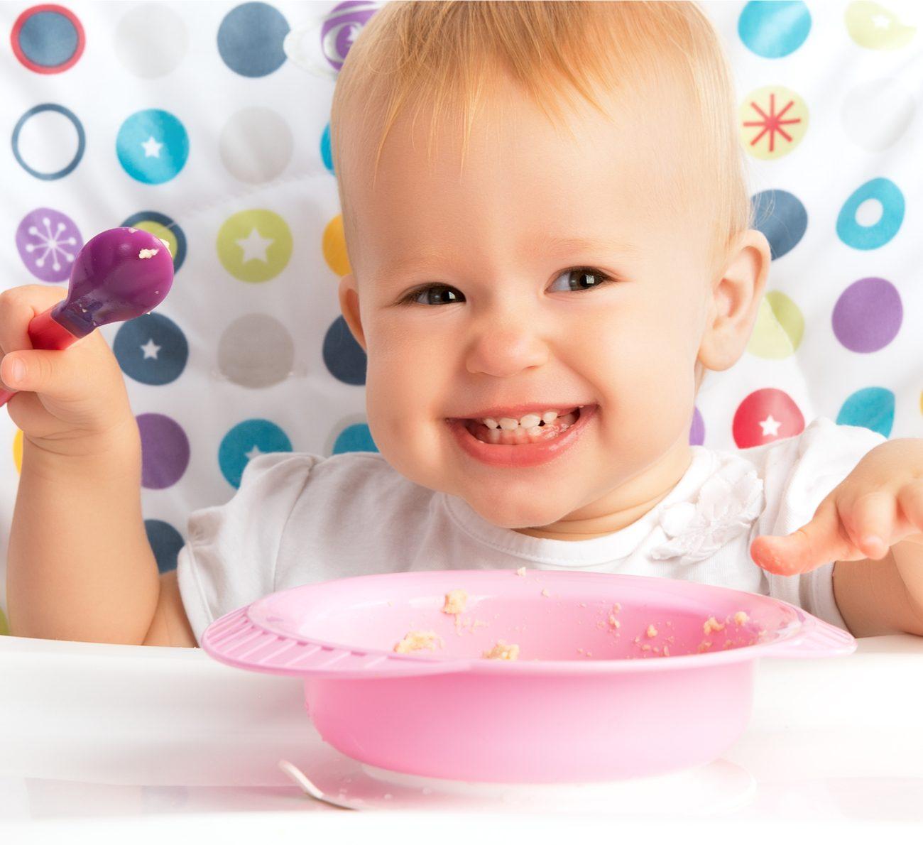 bebê pode comer frutos do mar
