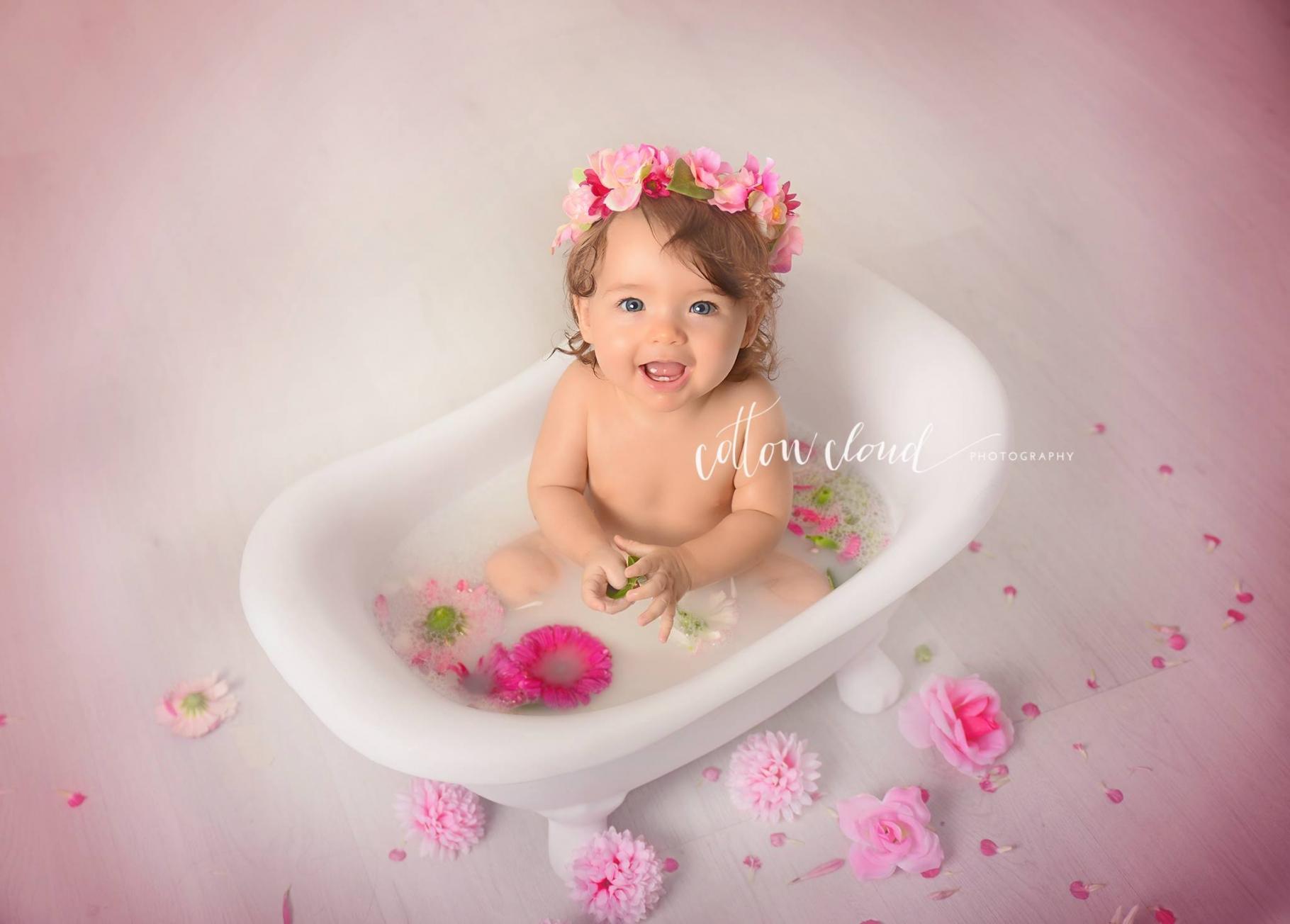 ensaio milk bath