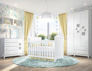 móveis para quarto de bebê mel