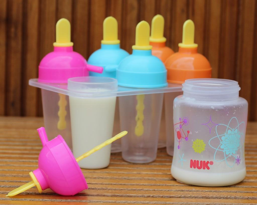 picolé de leite materno
