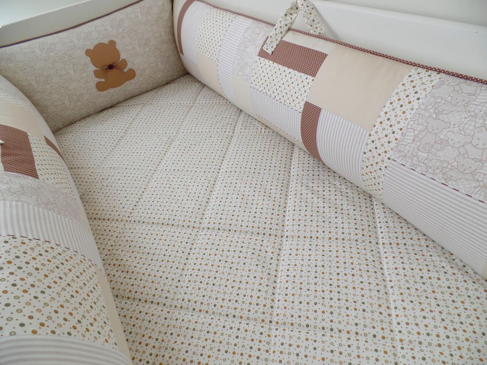 kit berço patchwork
