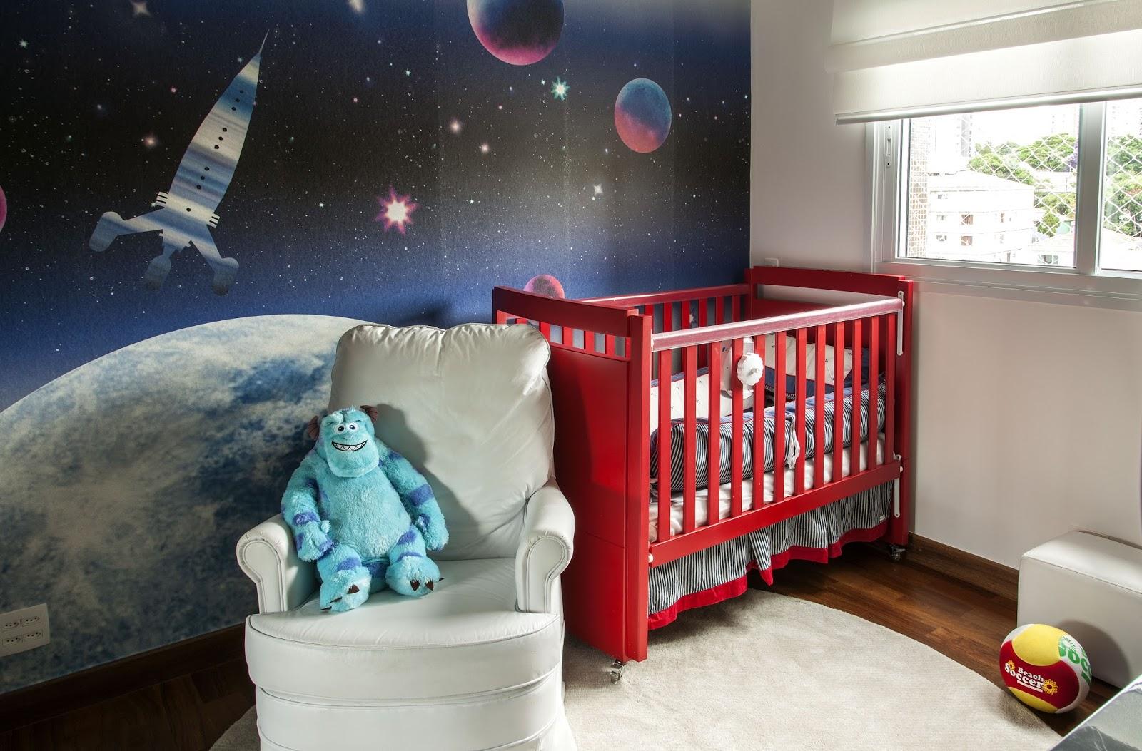 Quarto De Beb Astronauta Embarque Nesta Viagem Espacial ~ Quarto De Bebe Parede Com Poster Decoração Quarto