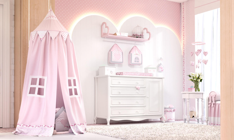 temas para quarto de menina