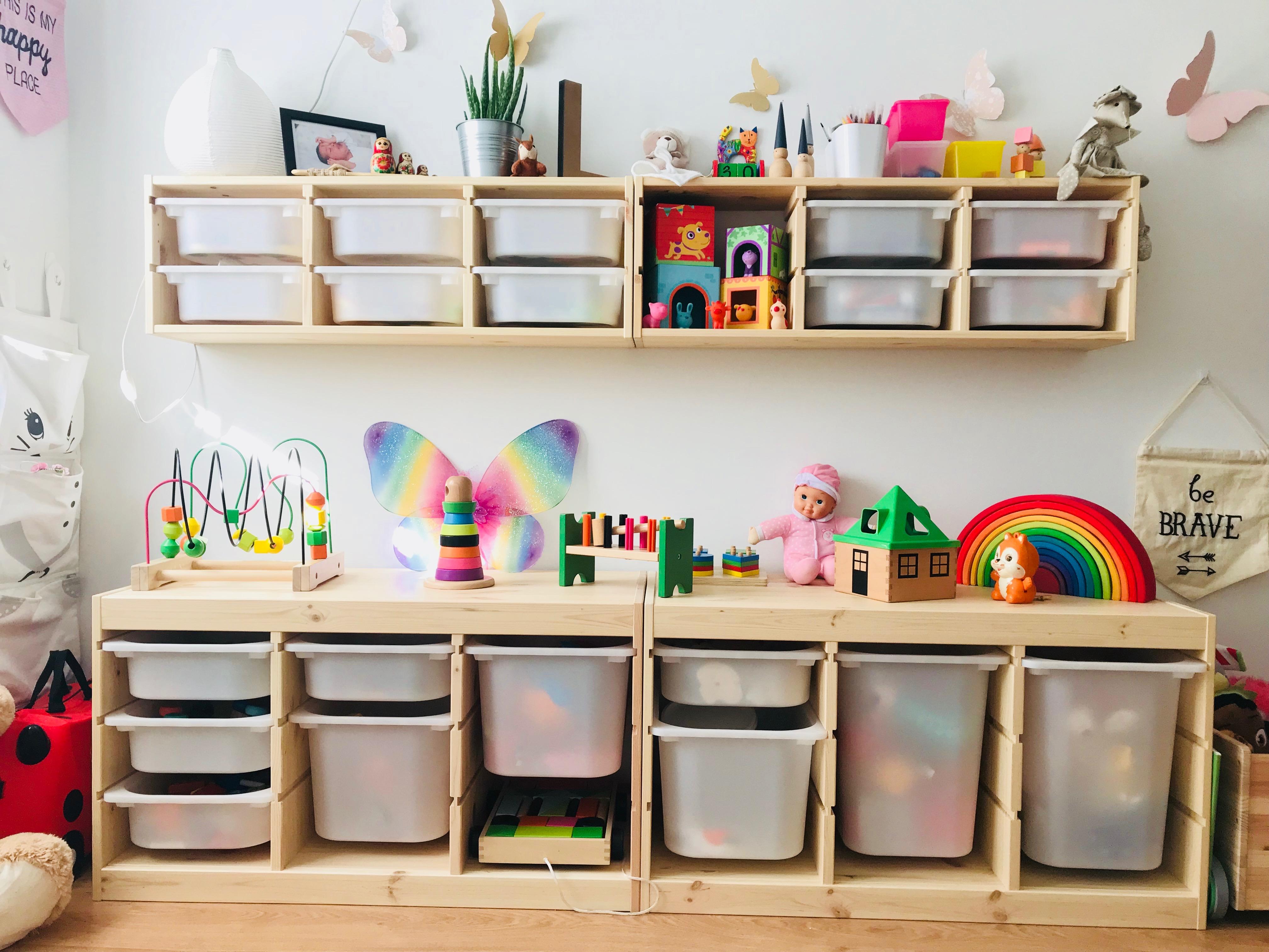 Adesivo De Espelho ~ Cestos organizadores s u00e3o acessórios funcionais no quarto de beb u00ea