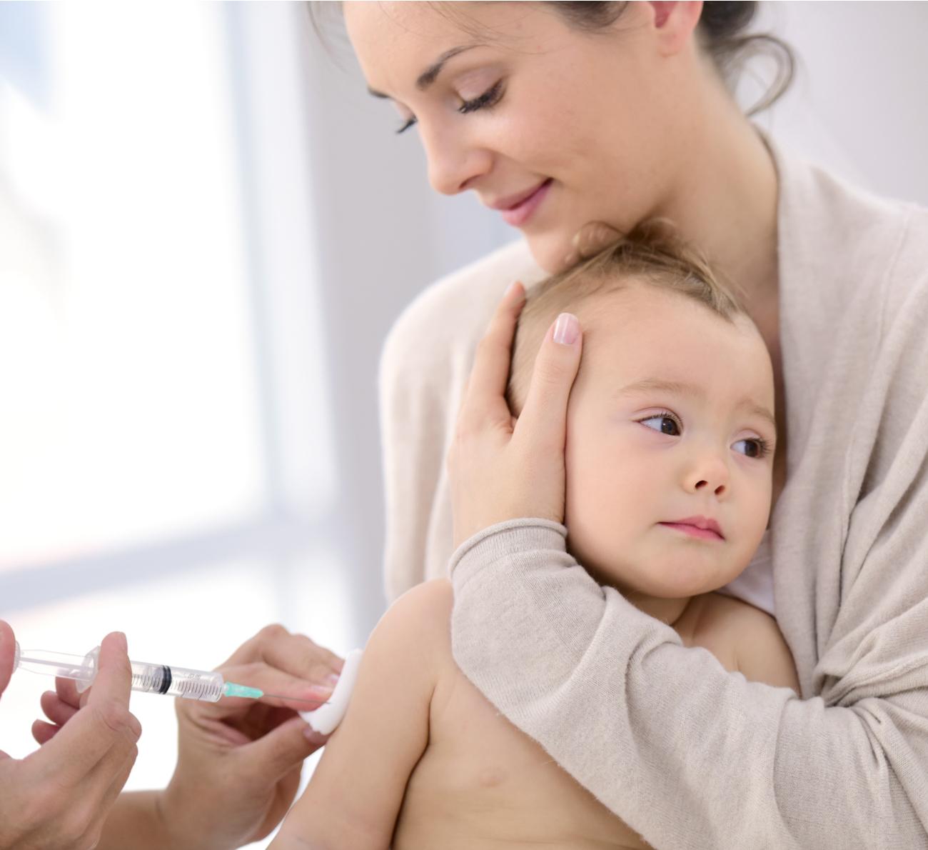 dor da vacina