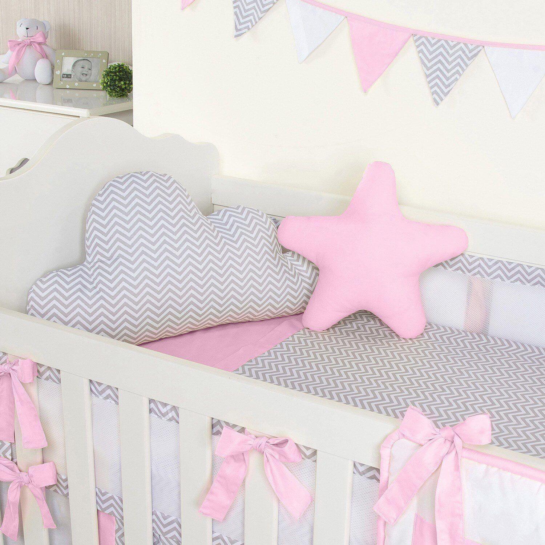 quarto de bebê chevron