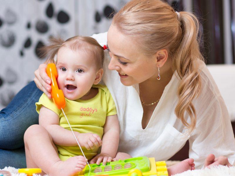 conversar com o bebê