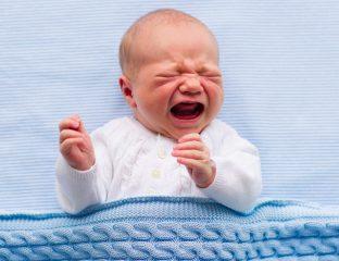 chá para bebê com cólica