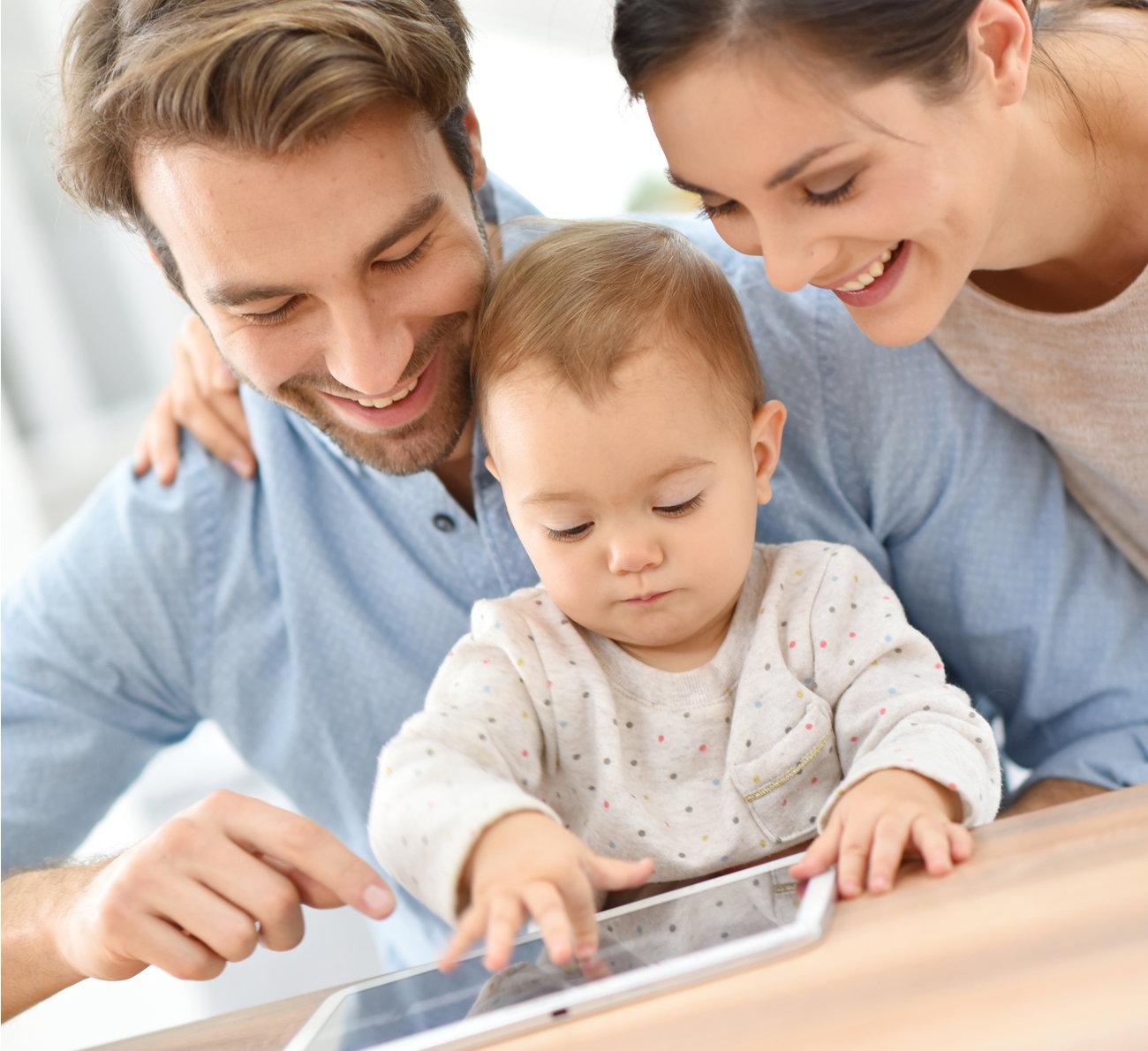aparelhos eletrônicos na infância