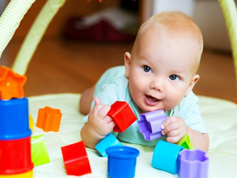 exercícios para bebês