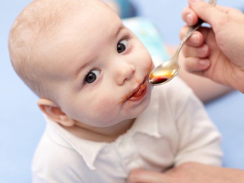 suplemento de ferro para bebês