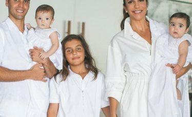 batizado das filhas de Ivete