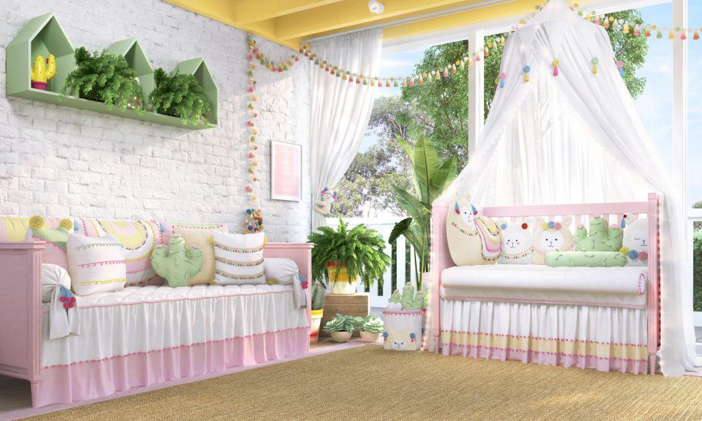 01282df19c25c Lhamas são novidade na linha Sabrina Sato Mom para quarto de bebê
