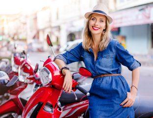 grávida pode andar de moto