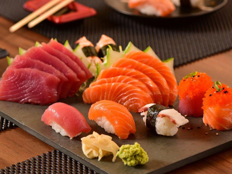 grávida pode comer comida japonesa