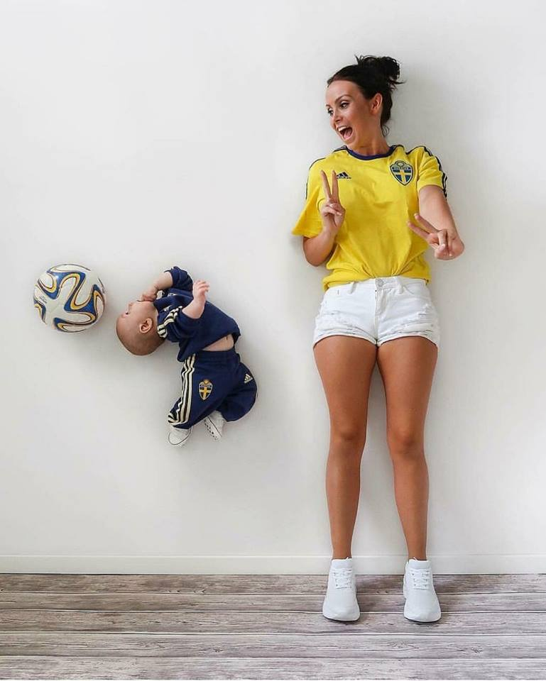 fotos criativas com bebês