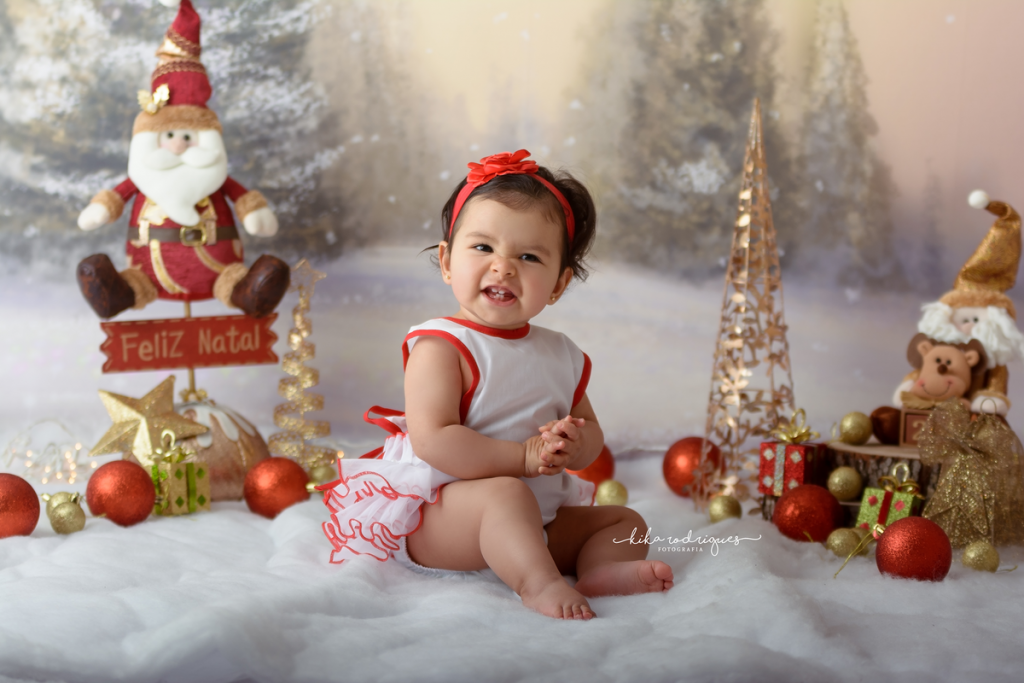 ensaio fotográfico de natal