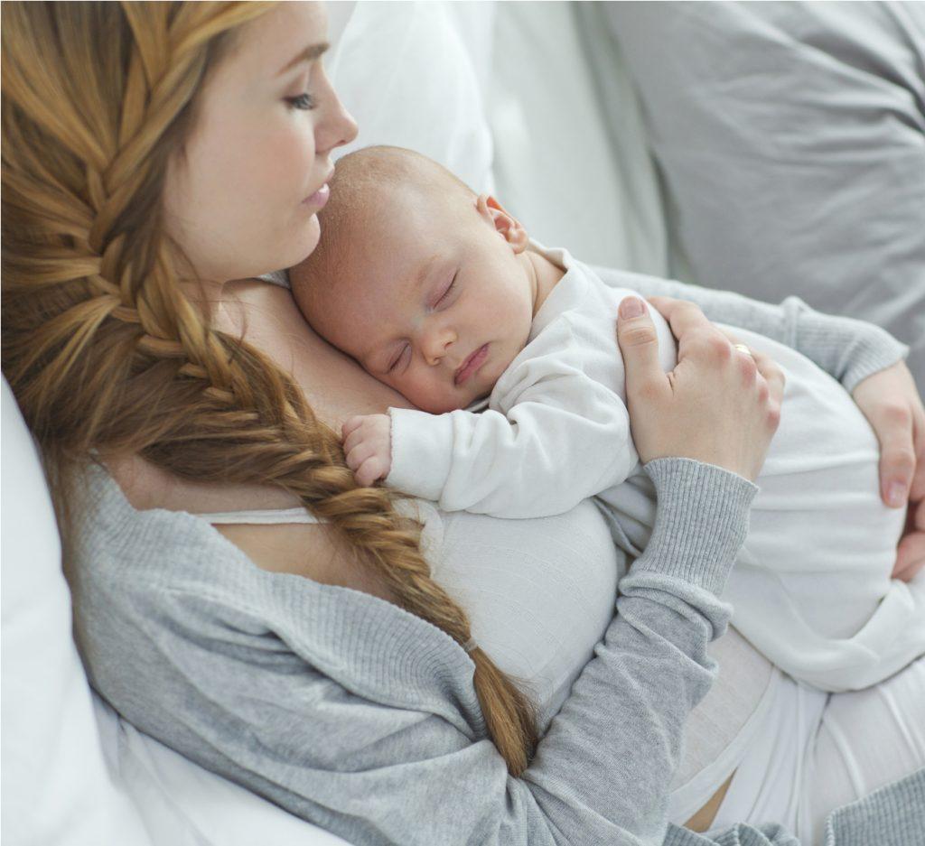 contrações pós-parto
