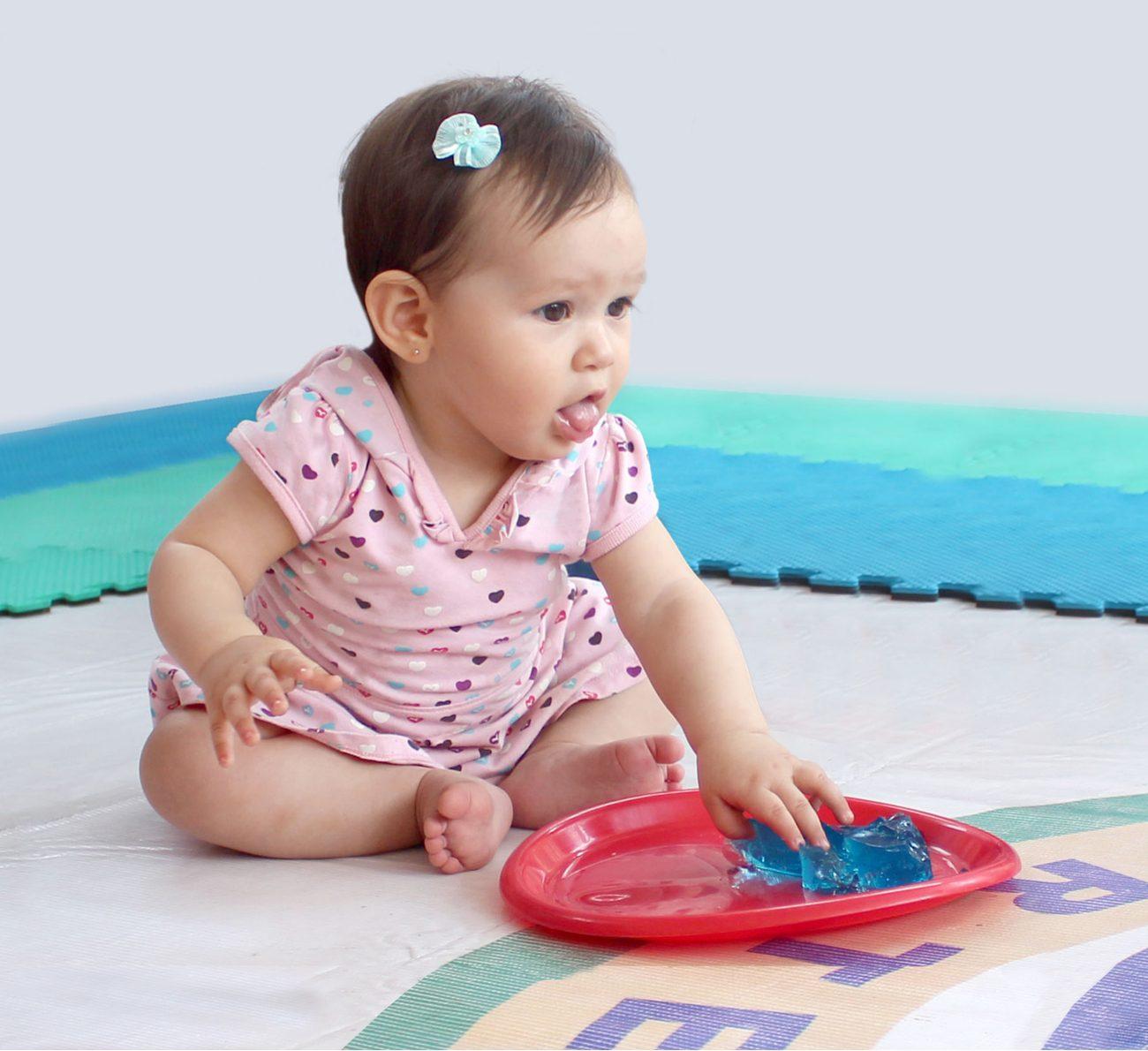 bebê pode comer gelatina