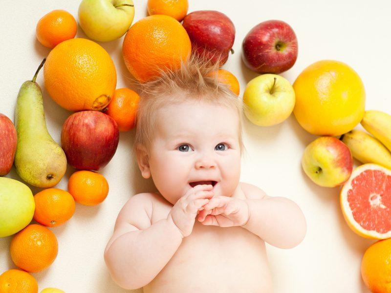 Frutas para Bebês