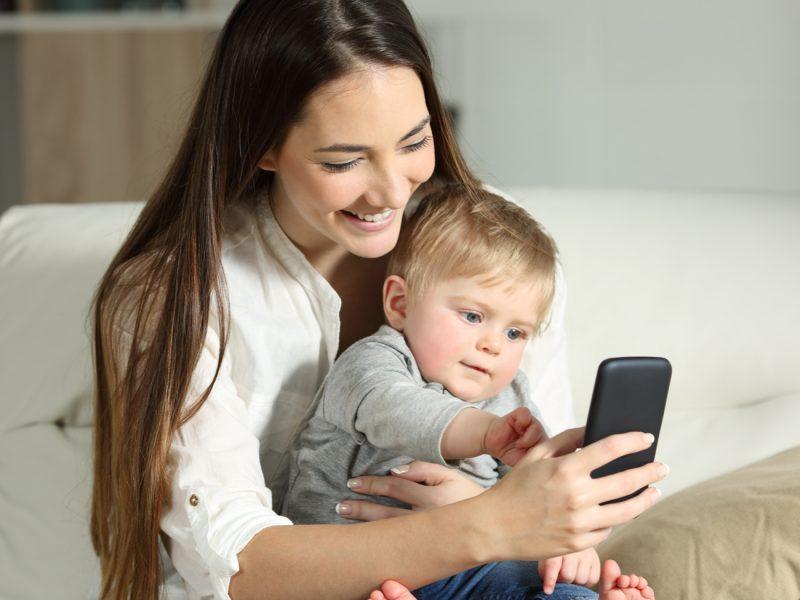 entreter as crianças sem celular