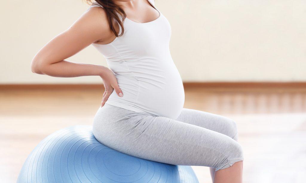 dor nas costas  na gravidez