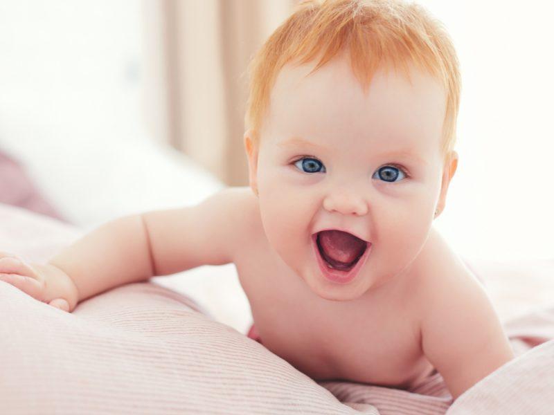 Bebês estão mais inteligentes e desenvolvidos