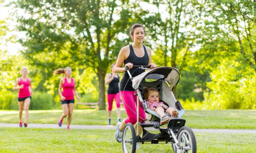 Mamãe fitness