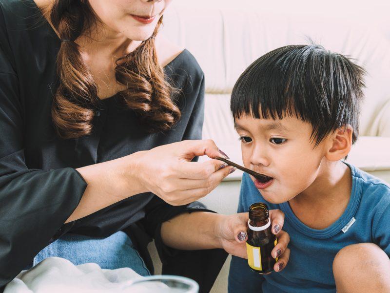 remédio para criança