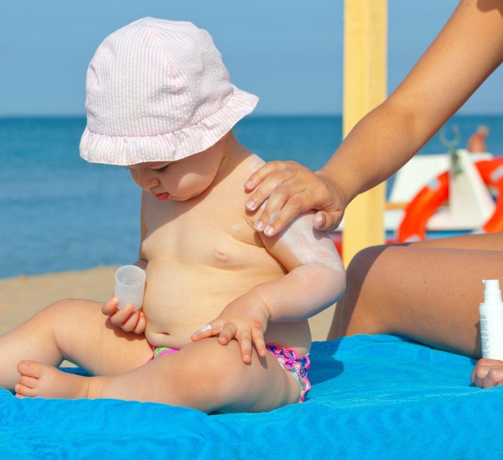 primeiro verão do bebê